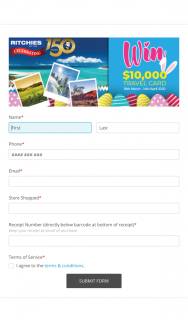Ritchies IGA Easter Promotion – Is By Way of (prize valued at $10,000)