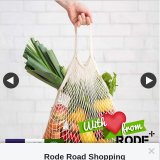 Rode Road Shopping Centre – Win Meat Fruit & Veg Or Bakery (prize valued at $25)