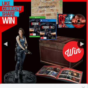 Stack magazine – Win a Resident Evil 3 Collectors Edition