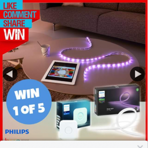 Stack Magazine – Win One of Five Amazing Philips Prize Packs Including a Philips Hue Outdoor Stip (5m) and a Philips Hue Bridge V2.0.