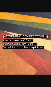 State Leather co – Win a Completely Customised Atlas Wallet Designed By You