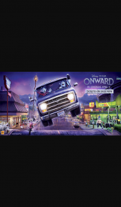 Student Edge – Win 1 of 25 Double Passes to See Disney and Pixar's Onward Promotion (prize valued at $1,050)