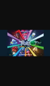 Student Edge – Win 1 of 15 Double Passes to Trolls World Tour Promotion (prize valued at $630)