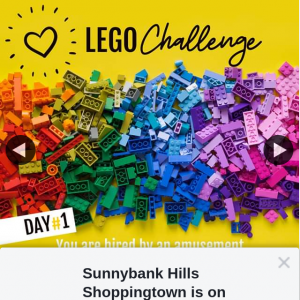 Sunnybank Hills Shoppingtown – Win 1 of 3 $100 Giftcards