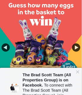 The Brad Scott Team All Properties Group – Win a Easter Hamper