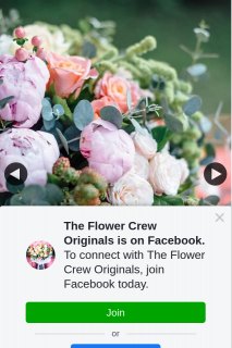 The Flower Crew Originals – Win Flowers for You and a Friend Must Collect