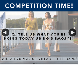 The Marine Village Sanctuary Cove – Win a $20 Gift Card