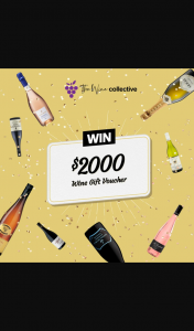 The Wine Collective – Win $2000 Worth of Wine (prize valued at $2,000)