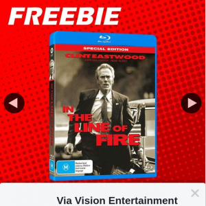 Via Vision Entertainment – Win a Copy of In The Line of Fire Bluray