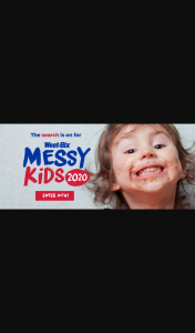 WeeTBix Messy Kids Comp 2020> @in $150 and a bowl – Win $150 Each and a Weet Bix Bowl