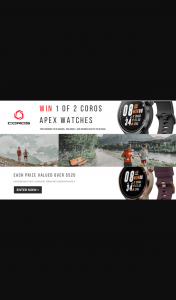 Wild Earth – Win 1 of 2 Coros Apex Premium Multisport Watches