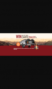 Wild Turkey – Win a Black Series Camper (prize valued at $27,940)
