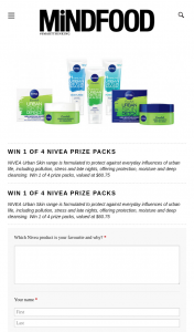 Win 1 of 4 Prize Packs Valued at $60.75 (prize valued at $60.75)