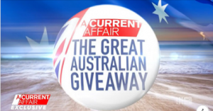 9Now – Coles Great Australian Giveaway – Win 1 of 100 Coles vouchers valued at $500 each