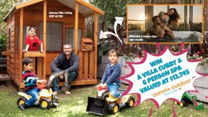 Aarons Outdoor Living – Win a Cubby and an Outdoor Spa valued at $12,745