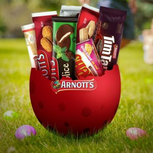 Arnott's Biscuits – Easter Egg Hunt – Win 1 of 3 prizes packs