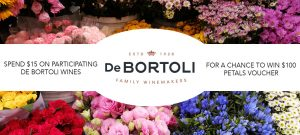 Bottlemart – Win 1 of 25 Petals gift cards valued at $100 each