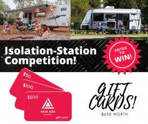 New Age Caravans Sydney – Win 1 of 3 gift vouchers