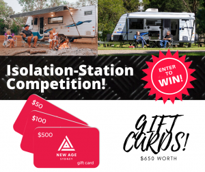 New Age Caravans Sydney – Win 1 of 3 gift vouchers