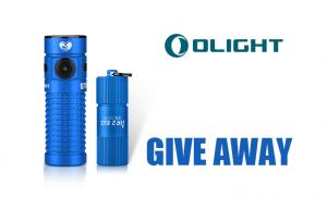 Olight Australia – Win a Blue S1R II and a Blue i1R II