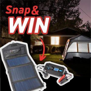 Projecta – Win a Projecta Compac Series Personal Folding Solar Panel