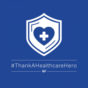 QV Skincare – Win a QV Thank You care prize pack for a Healthcare hero you know