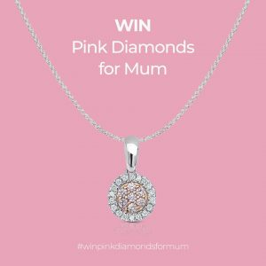 York Jewellers – Win a Pink Diamond Pendant for Mum