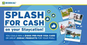 Zodiac – Splash 4 Cash – Win a Prepaid Visa Card valued at $1,000