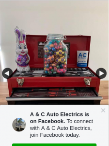 A & C Auto Electrics – Win The Jar of Easter Eggs But a 201pc Tool Kit