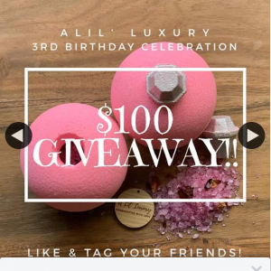 A Lil' Luxury – Win a $100 Store Voucher