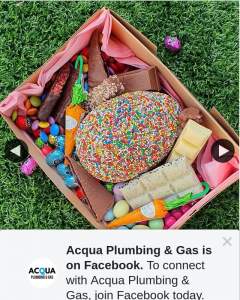 Acqua Plumbing & Gas – Win Yummy Chocolate Box