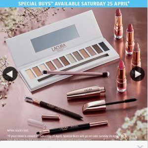 Aldi – Win a Lacura Beauty Pack