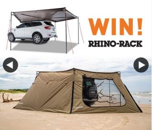 All 4 Adventure – Win a Rhino Rack Batwing Awning