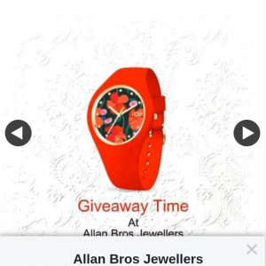 Allan Bros Jewellers – Win an Ice Flower Passion Watch