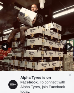 Alpha Tyres – Win 1 Years Supply of Beers