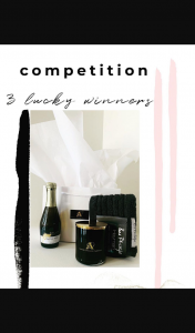 Amour Candles – Win 1 of 3 Luxury Gift Bags