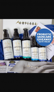 Amperna skin skin care bundle open internationally – Will Be Announced on Wednesday 25th March