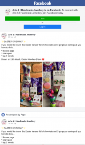 Arlo & I Handmade Jewellery – Win this Easter Hamper Full of Chocolate and 3 Gorgeous Earrings All You Have to Do Is..