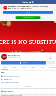 Arnott's Biscuits – Win an Arnott's Gift Bag (prize valued at $30)