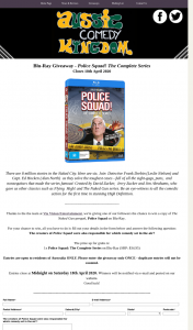 Aussie Comedy Kingdom – Win a Copy of The Naked Gun Prequel