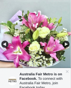 Australia Fair Metro – Win a Bunch of Flowers for Mother's Day Must Collect (prize valued at $55)
