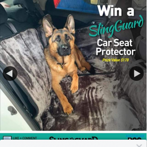 Australian Dog Lover – Win a Back Seat Dog Cover (prize valued at $170)
