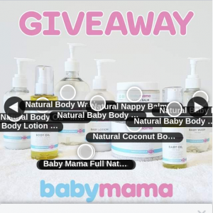 BABY MAMA SKINCARE GIVEAWAY (7pm close) – Competition (prize valued at $139)