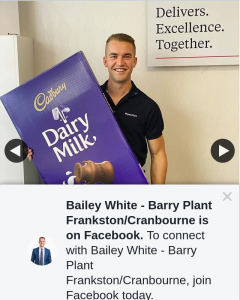 Bailey White – Win Barry Plant Frankston/cranbourne