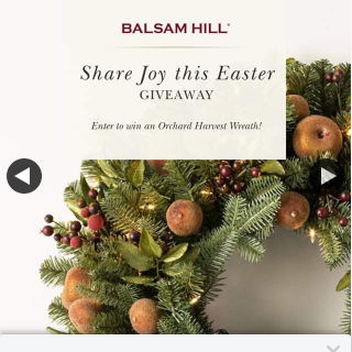 Balsam Hill Australia · – Win 1/2 Orchard Harvest Wreaths
