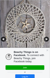 Beachy Things – Win a Shell Dream Catcher