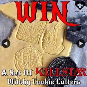 Beserk – Win Set of Killstar Witchy Cookie Cutters
