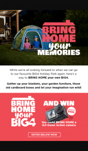 Big 4 Holiday Parks – Win a Fantastic Prize While You're at It (prize valued at $499)