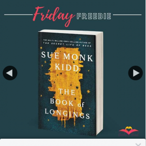 Books With Heart Book Club – Win 1 of 5 Advance Copies of The Books of Longings By Sue Monk Kidd