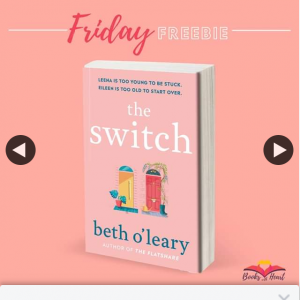 Books With Heart Book Club – Win 1 of 5 Advance Copies of The Switch By Beth O'leary